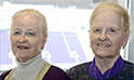 Jackie Jones Stone '64 and Her Twin Sister Jeannette Jones '64